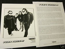 FEAR FACTORY 'REMANUFACTURE (CLONING TECHNOLOGY)' 1997 PRESS KIT--PHOTO