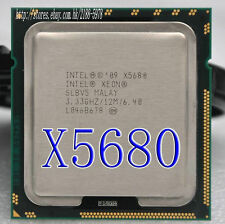 Free shipping Intel Xeon Six-Core X5680 SLBV5 3.33GHz 12MB 6.40GT/s LGA1366