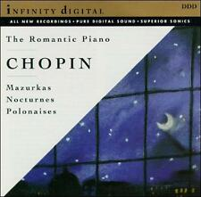 Frederic Chopin: The Romantic Piano (CD, Feb-1994, Infinity Digital) NEW Sealed