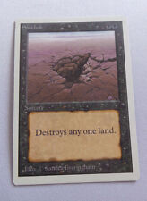 MtG - Sink Hole UNLIMITED (NM-) ENGLISH - Magic Reserved List