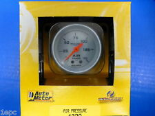 Auto Meter 4320 Ultra Lite Mechanical Air Pressure Gauge 0-150 PSI 2 1/16