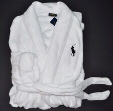 RALPH LAUREN POLO MEN'S LOUNGE PLUSH BATH ROBE SAUNA BIG PONY GIFT S M L XL XXL