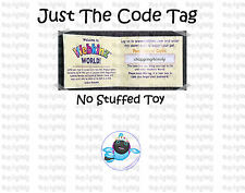 Webkinz LIL KINZ Polka Back Fish ( unused code tag only ) !RELIABLE Seller!