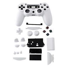 Wireless Controller Schale Fall Gehäuse +Button weiß Für PS4 Gamepad Joystick