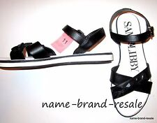 SAM & LIBBY NEW Black Jewel Criss Cross Sandals Womens Size 11 Ankle Strap Shoes
