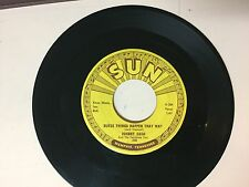 COUNTRY 45 RPM RECORD - JOHNNY CASH - SUN 295