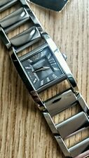 ☆Emporio Armani•Ladies Watch•Stainless Steel Link Bracelet. ($445.). NWT.