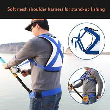 Big Sea Fishing Belt Shoulder Distributing Load Sprains Fishing Harness SL F3C9