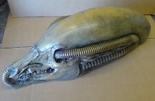 Alien Biomechanoid H.R. Giger Alien Prometheus Space Jockey Head Statue Rare Art