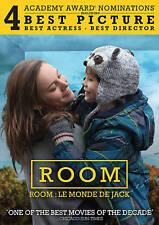 Room DVD, 2016, Canadian