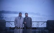 KODACHROME 35mm Slide Canada Niagara Falls Handsome Men Camera Fashion 1960!!!