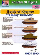 "H-Models Decals 1/35 TIGER I TANK BATTLE OF KHARKOV ""GROSSDEUTSCHLAND"" DIVISION"