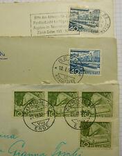 Francobolli Helvetia 4 da 10 1952 e 2 da 40 1952  AR600
