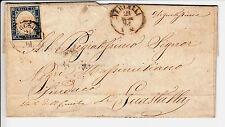 SARDEGNA-20c(15D)-Lettera viaggiata Vercelli- Guastalla 21.5.1861