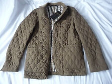 DAKS Brand New Brown Quilted Ladies Jacket  RRP £451