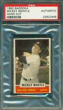 Mickey Mantle 1962 Bazooka ** PSA Authentic **