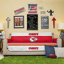 Kansas City Chiefs NFL Sofa Couch Cover Furniture Protector Man Cave Microfiber