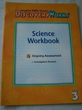 Houghton Mifflin Discovery Works Grade 3 Science Workbook ISBN# 0618028420