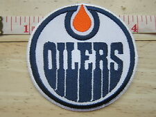 NHL Edmonton Oilers Logo embroidered Iron on Patch High Quality Shirt Bag Cap