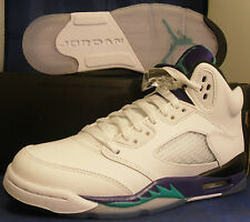 Nike Air Jordan 5 V Retro Grape SZ 18 ( 136027-108 )
