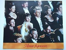 SOPHIE MARCEAU JAMES FOX PHOTO EXPLOITATION LOBBY CARD ANNA KARENINE