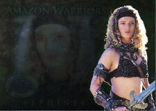 XENA BEAUTY AND BRAWN AMAZON WARRIOR CARD AW4