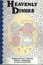 PASO ROBLES CA 1994 CHRISTIAN LIFE CENTER COOK BOOK *HEAVENLY DISHES *CALIFORNIA
