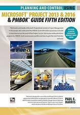 Planning Control Using Microsoft Project 2013 or 2016 Pmbok Guide Fifth Edition
