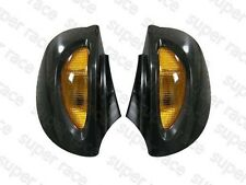 Black Side Rear Mirrors Turn Signal for BMW R1100RT R1150RT R1100 RT R1150 RT