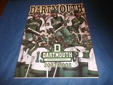 2007-08 Dartmouth Big Green Women's Ice Hockey Guide
