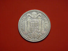 COLLECTIBLE SILVER 0.925 PESETA 1975 History of THE PESETA 1869 - 2002 REPLICA
