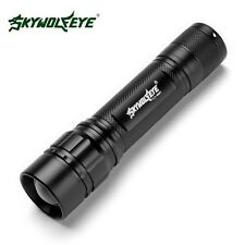 Blacklight 4000 LM 3 Mode CREE XM-L T6 LED 18650 Zoomable Flashlight Focus Lamp