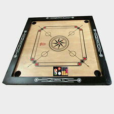 "New Carrom Board WITH Carrom COIN'S Carrom Board SIZE  27 x 27"" Mango Rosewood"