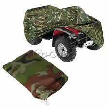 Camo XL Quad Bike ATV Storage Cover for Honda Suzuki Polaris Kawasaki Yamaha