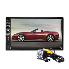 7 Inch HD Touch LCD 2-DIN In Dash Bluetooth Auto Car DVD CD MP5 Player FM Radio