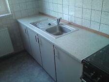 Küche Junggesellen Büro Küchenmöbel Spüle Hängeschränke Küchenzeile Küchenblock