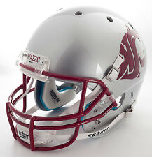 "WASHINGTON STATE COUGARS ""HOME"" Schutt Air XP Authentic GAMEDAY Football Helmet"