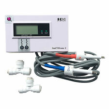 HM Digital DM-2 Dual Inline TDS Meter Monitor Commercial for RO Unit