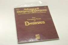 AD&D The Complete Dwarves Player's Handbook Rules Supplement Excellent Condition