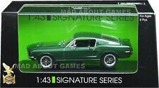 FORD MUSTANG GT 1968 1:43 Bullit McQueen Model Die Cast Metal Models Miniature