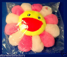 NEW TAKASHI MURAKAMI Ohana Flower Cushion Pink Pillow (Smily/Sleey) Kaikai Kiki