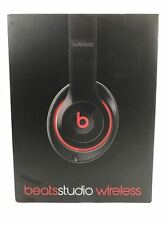 Beats by Dr. Dre Studio 2.0 Wireless Black w/Pouch & Accessories-Retail Box