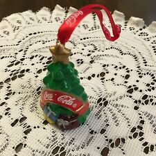 Coca Cola Coke Christmas Ornament Tree Porcelain