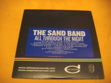 Cardsleeve Full CD THE SAND BAND All Through The Night PROMO 10TR 2010 folk