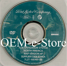 2006 2007 Ford Explorer / Sport Trac / Freestyle Five Hundred Navigation DVD Map