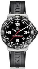 TAG HEUER FORMULA 1 WAH1110.FT6024 BLACK RUBBER QUARTZ WATCH GREAT GIFT IDEA