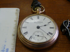 american watch co pocketwatch WORKS PERFECTLY