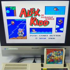 ALEX KIDD Miracle World Sega mark III Japan Import MASTER SYSTEM mk3 Cart Only !