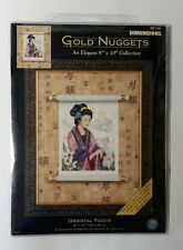 Dimensions Gold Nuggets Collection Oriental Touch Beauty Counted Cross Stitch