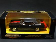 Ertl American Muscle Baldwin Motion 1969 Chevy Nova SS 1:18 Scale Diecast Car